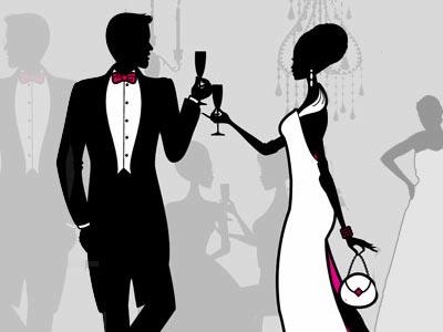 black tie event themes - Template